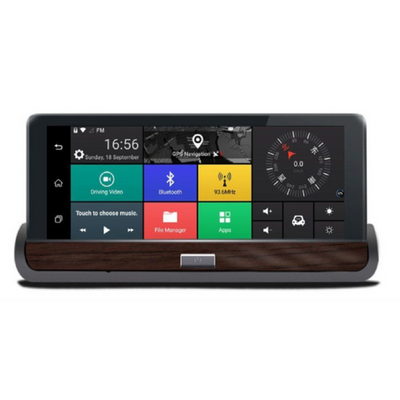 Luxury Brown Android Navigation Dashcam Tablet - Extended shipping time - see below