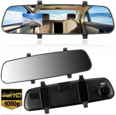 "2.7"" Rear View Mirror Dashcam"