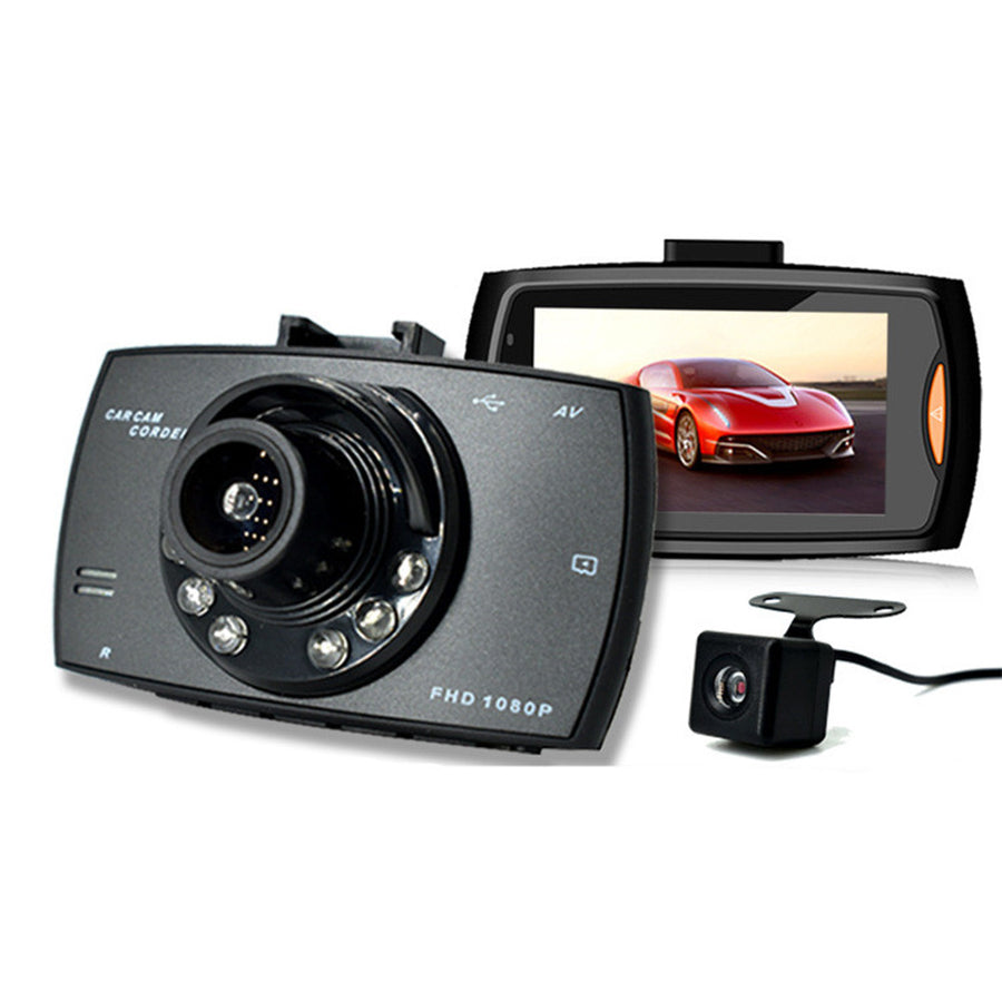 2.7 Inch Dash Cam HD 1080P Parking Monitor With G-Sensor