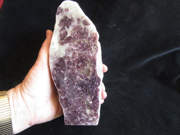 Lepidolite Rock Block RB245