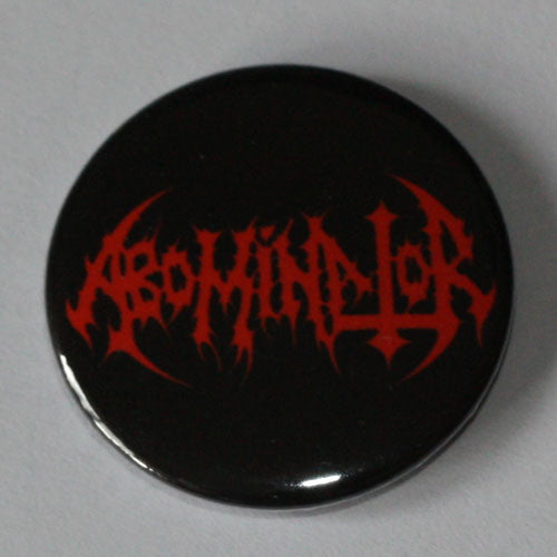 Abominator - Red Logo (Badge)