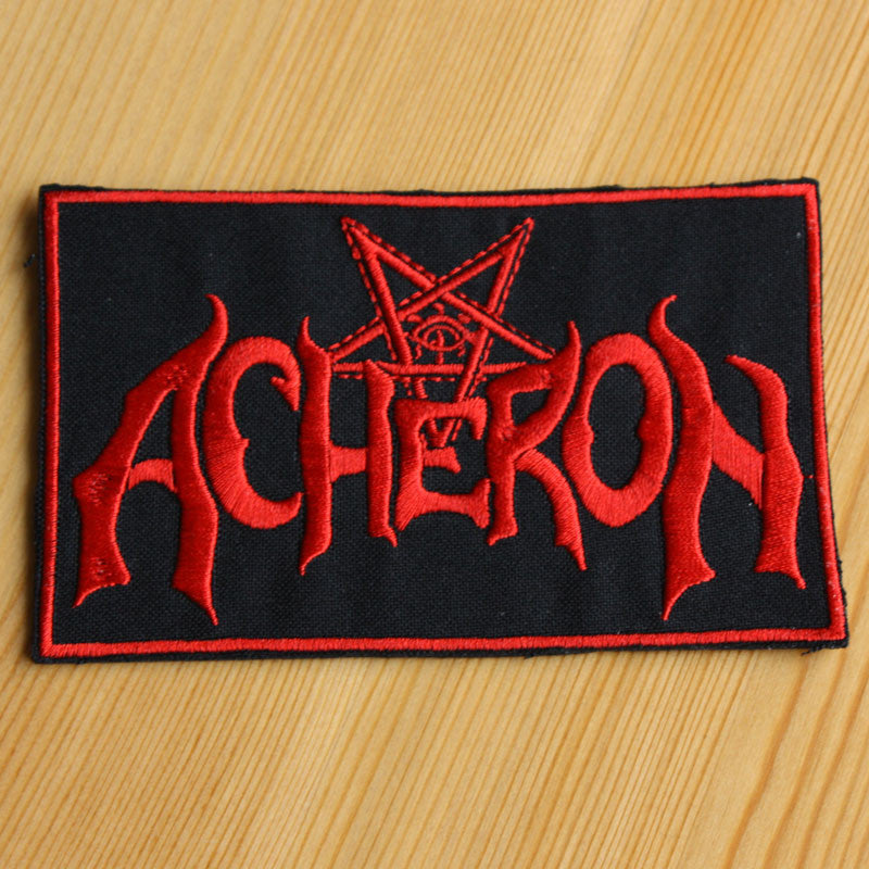 Acheron - Red Logo (Embroidered Patch)