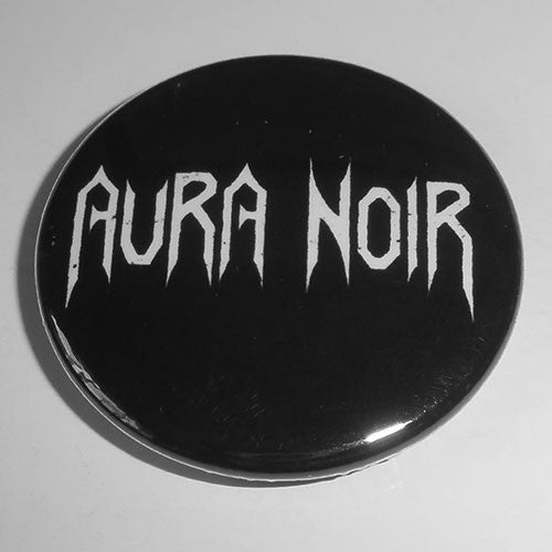 Aura Noir - White Logo (Badge)