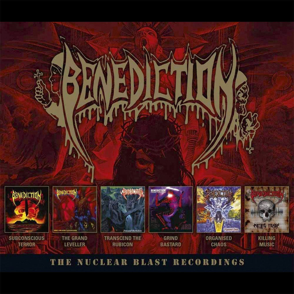 Benediction - The Nuclear Blast Recordings (6CD)