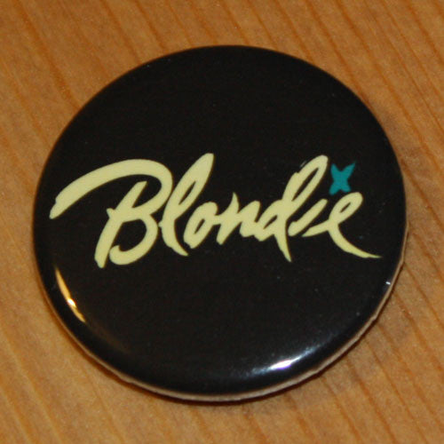 Blondie - Yellow Logo (Badge)