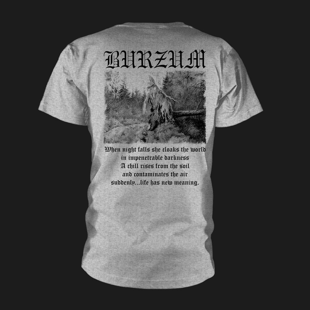 Burzum - Filosofem (Black on Grey) (T-Shirt)