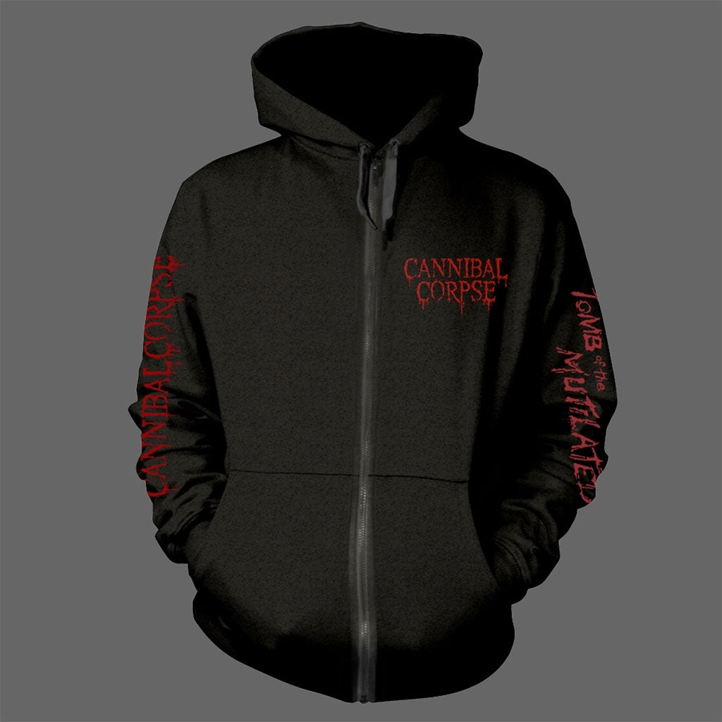 Cannibal Corpse - Tomb of the Mutilated (Original) (Full Zip Hoodie)