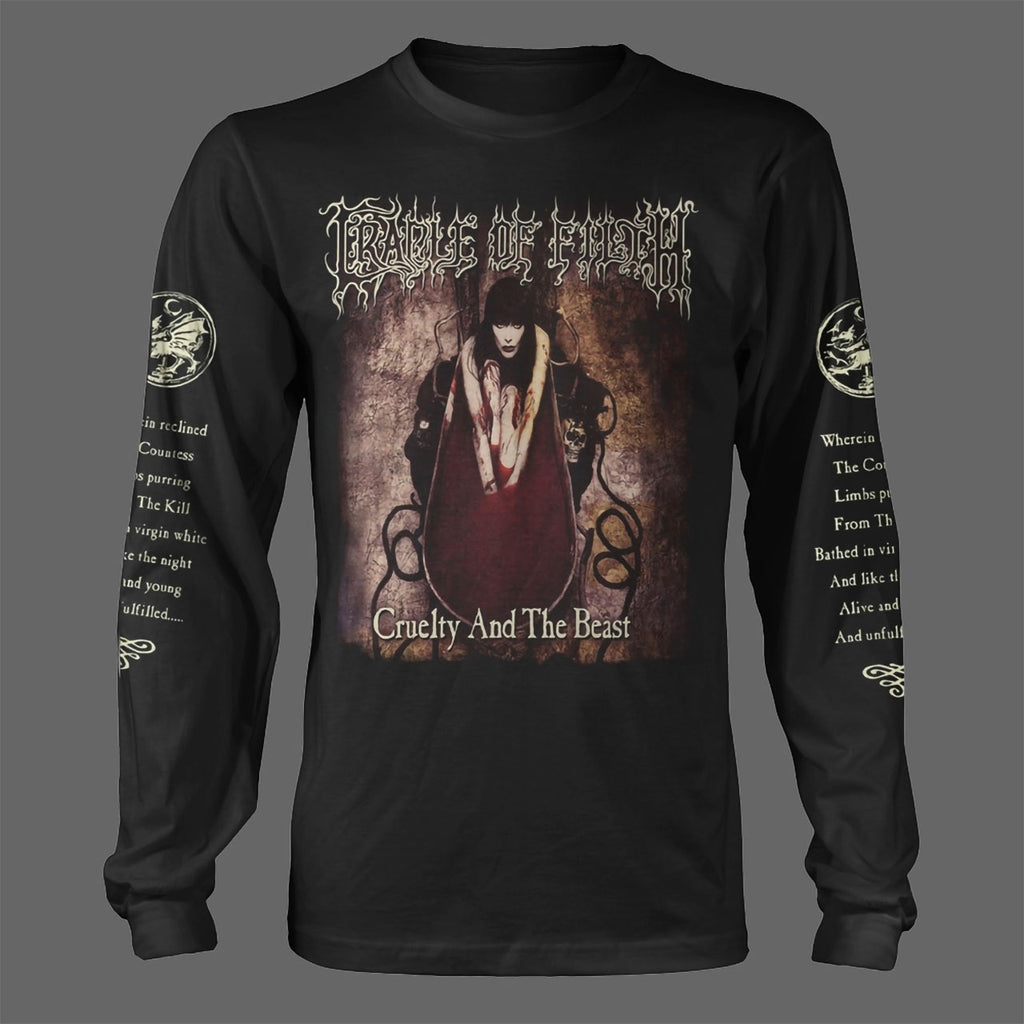 Cradle of Filth - Cruelty and the Beast (Long Sleeve T-Shirt)