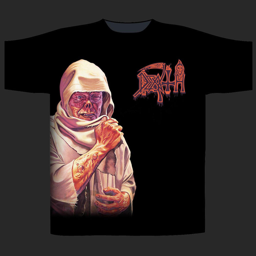 Death - Leprosy / Leper Side Print (T-Shirt)