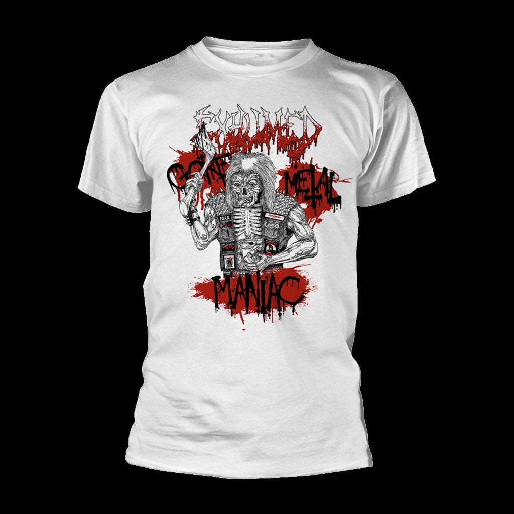 Exhumed - Gore Metal Maniac (White) (T-Shirt)