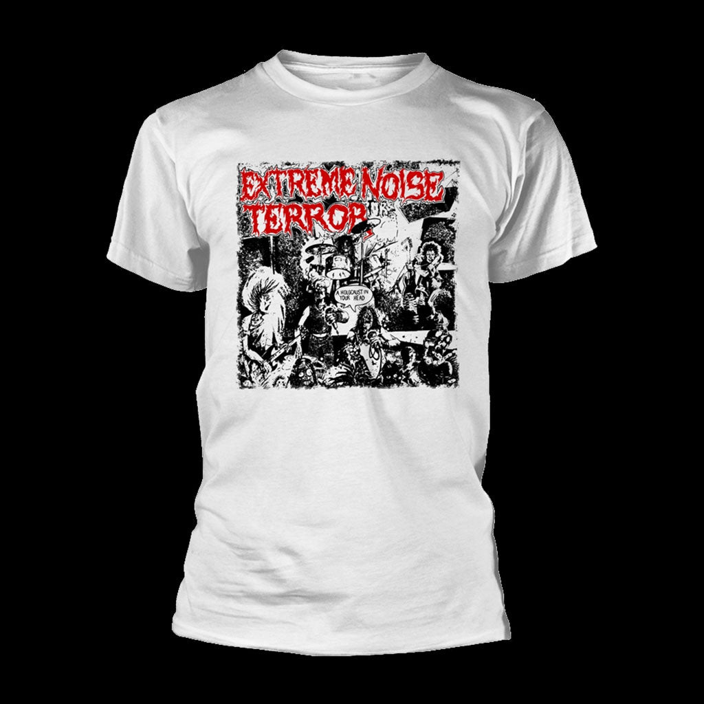 Extreme Noise Terror - A Holocaust in Your Head (White) (T-Shirt)