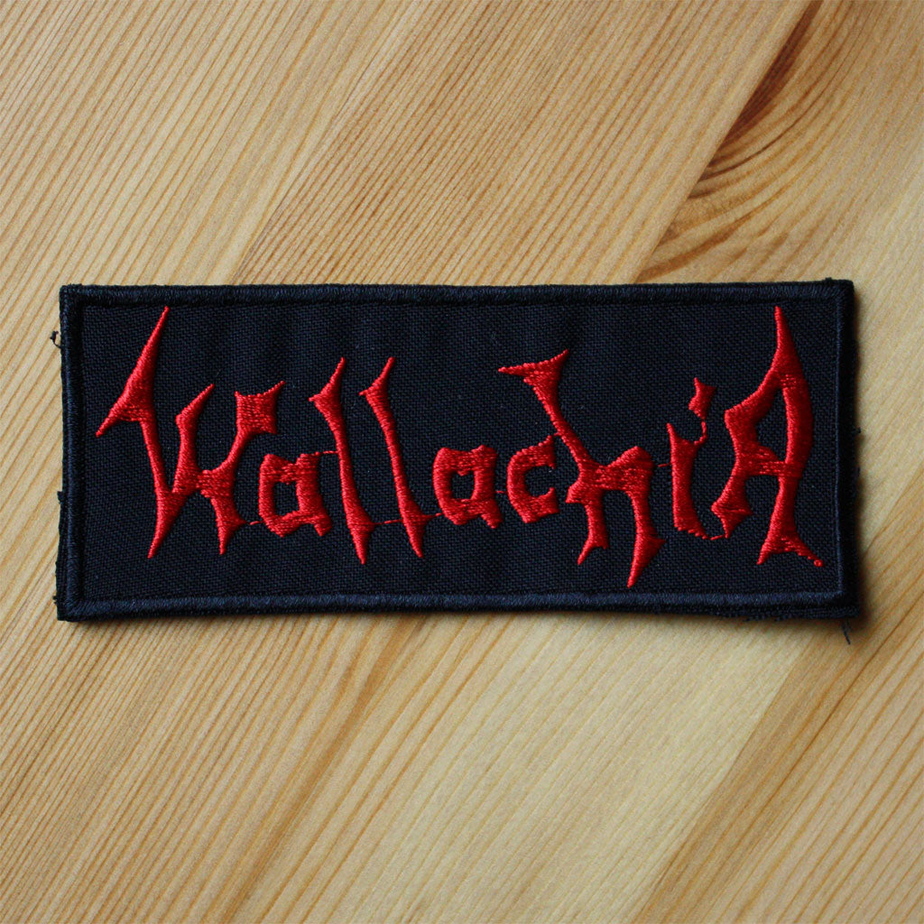 Wallachia - Red Logo (Embroidered Patch)