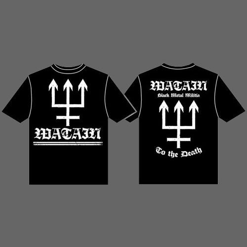 Watain - Logo & Trident (T-Shirt)