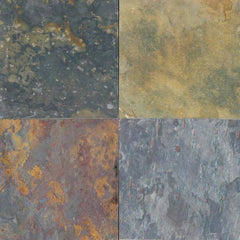 "Slate Tile Collection Multi Classic 12""x12"" - FloorLife"