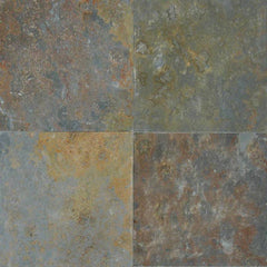 "Slate Tile Collection San Rio Rustic 12""x12"" - FloorLife"