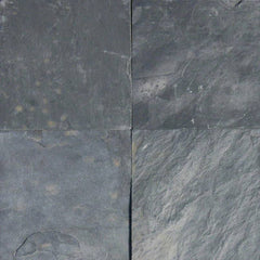 "Slate Tile Collection Silver Blue 12""x12"" - FloorLife"