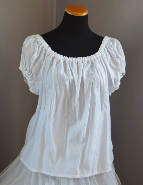 Cotton Chemise Fits Many - Eagenie's Scots 'n Knots