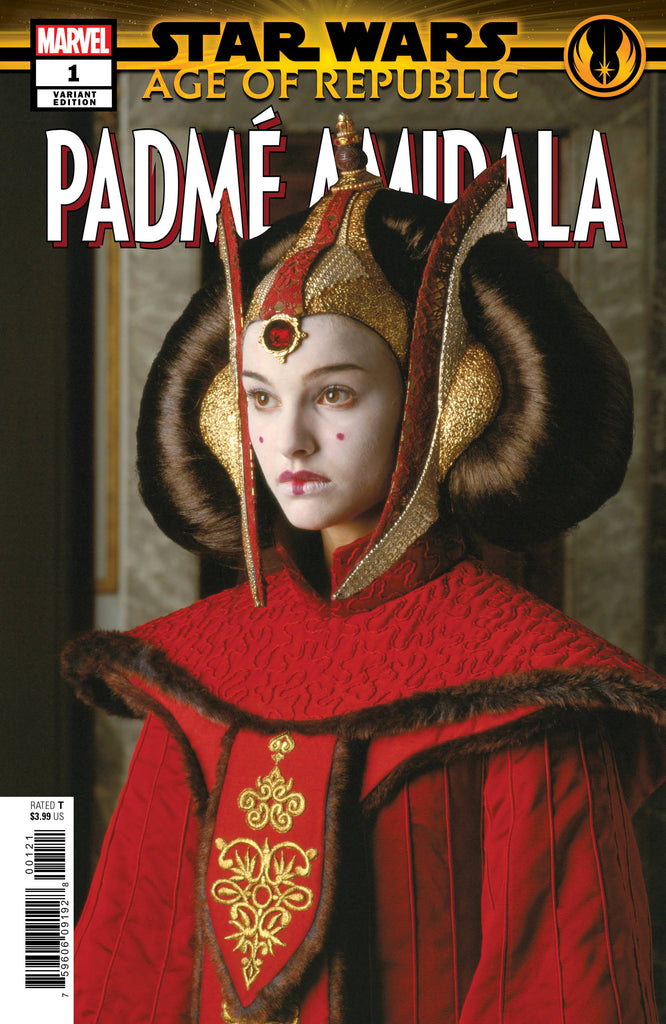 Star Wars Age of Republic Padme Amidala #1 1/10 Natalie Portman Photo Variant
