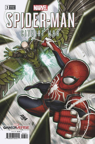 Marvel Gamerverse Spider-Man City At War #3 1/50 David Nakayama Variant