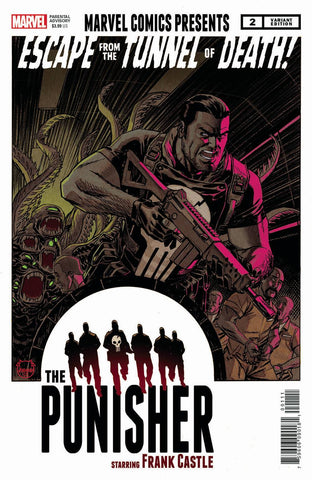 War of the Realms Punisher #2 1/25 Dave Johnson Variant