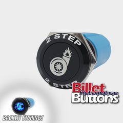 19mm FEATURED '2 STEP' Billet Push Button Switch Launch Control 2step etc