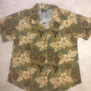 Men's Ocean Island Hawaiian shirt