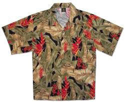 Men's Vintage Paradise Hawaiian Shirt