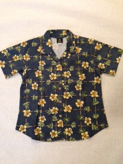 Women's Bamboo Garden Hawaiian shirt