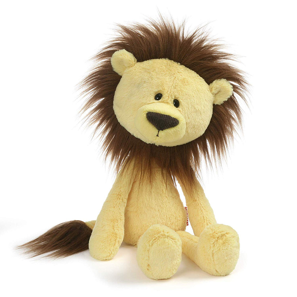 GUND Toothpick Zane Lion Plush Stuffed Animal, Yellow, 15