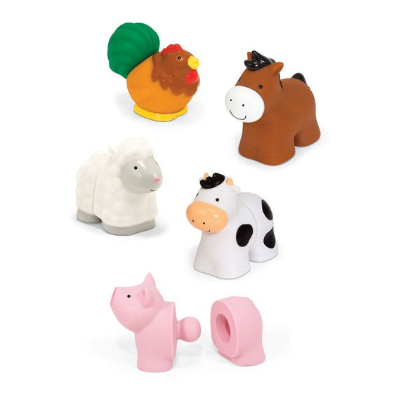 Pop Blocs Farm Animals Learning Toy Melissa & Doug