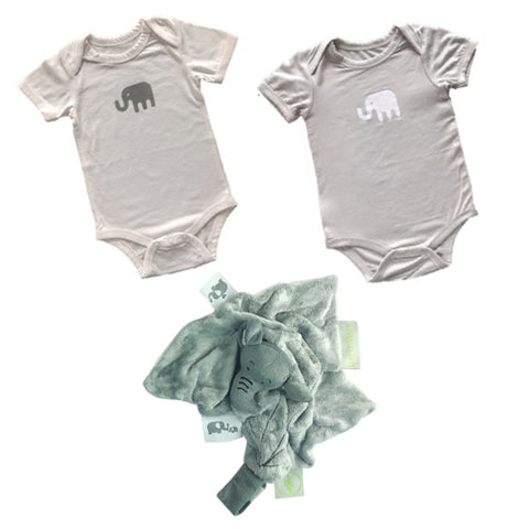 Bamboobubs Newborn Set No: 2B (2 x bodies +Doudou)