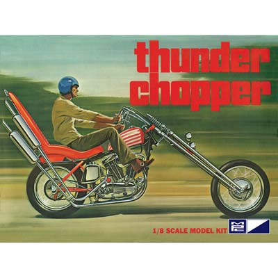 1/8 Thunder Chopper Custom Motorcycle (PART# MPCS0835)