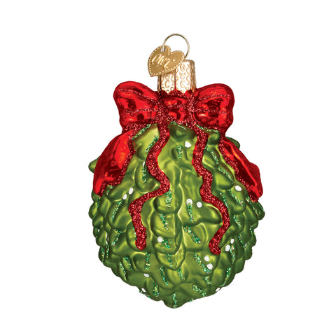 "Old World Christmas ""Mistletoe"" Glass Ornament"