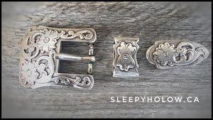 "Buckle Sets for Dog Collars 3/4"" width"