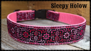 Floral & Scroll Dog Collar