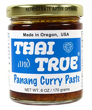 Thai and True Panang Curry Paste, 6 oz - Snazzy Gourmet