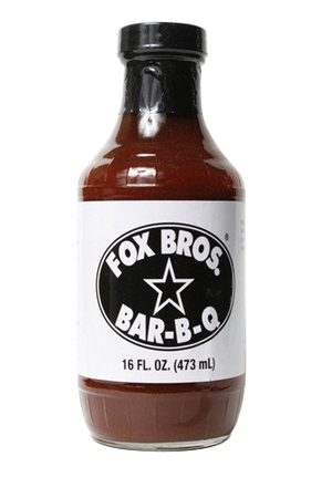 Fox Bros. BBQ Sauce Original, Spicy, & Rub (Sampler Pack) - Snazzy Gourmet