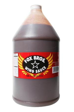 Fox Bros. Spicy BBQ Sauce 1 Gallon - Snazzy Gourmet