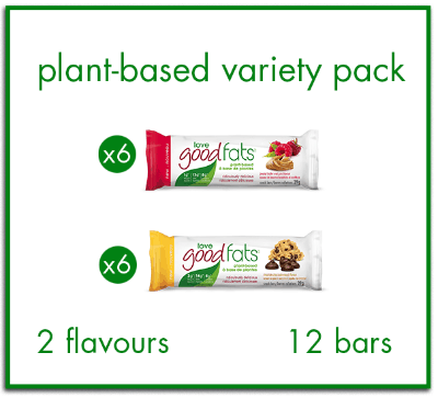 Plant-Based Variety Pack  (box of 12)