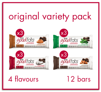 Love Good Fats Variety Pack<br>(box of 12)