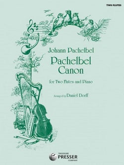 Pachelbel Canon for two flutes and piano