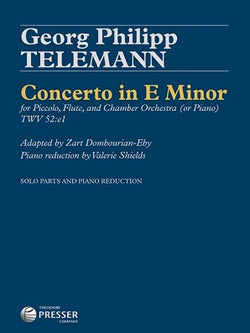 Telemann, Georg Philipp - Double Concerto in E Minor  Arranged by Zart Dombourian-Eby & Valerie Shields