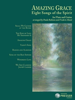 Amazing Grace - Eight Songs of the Spirit for flute and guitar