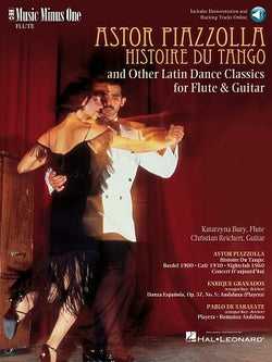 Piazzolla: Histoire Du Tango and Other Latin Classics for Flute and Guitar/Piano