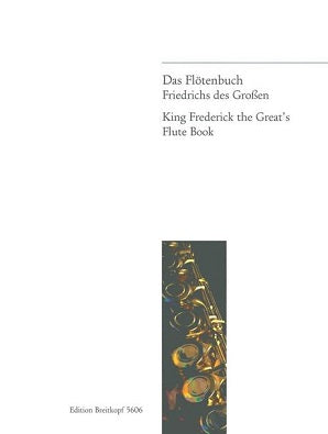 Flute Book Frederick the Great (II) 100 Daily Exercises