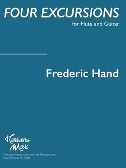 Hand F  -  Four Excursions for flute and guitar
