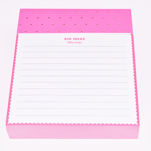 Big Ideas Little Notes Pad