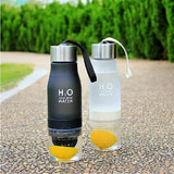 Frosted Leak-proof 650ml Lemon Cup H2O water bottle