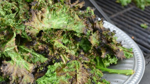 Coconut and Lime Grilled Kale