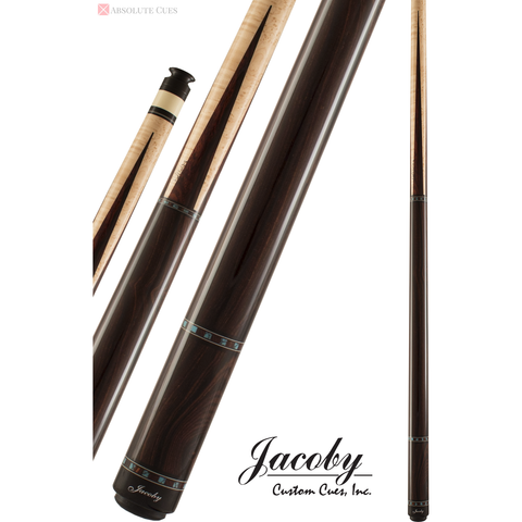 Jacoby Pool Cues - HB2 - Birdseye Maple Cocobolo - Low Deflection - absolute cues